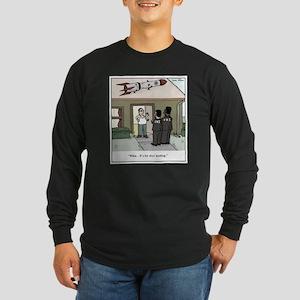 Missile on Roof Gun Contr Long Sleeve Dark T-Shirt