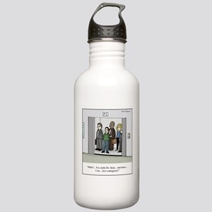 Contagious On Elevator Stainless Water Bottle 1.0l