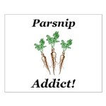 Parsnip Addict Small Poster