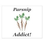 Parsnip Addict Small Poster
