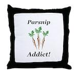 Parsnip Addict Throw Pillow
