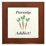 Parsnip Addict Framed Tile