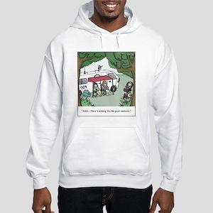 RV Great Outdoors Cartoon Hooded Sweatshirt