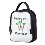 Fueled by Parsnips Neoprene Lunch Bag