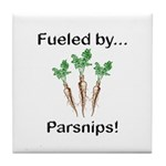 Fueled by Parsnips Tile Coaster