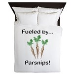 Fueled by Parsnips Queen Duvet