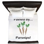 Fueled by Parsnips King Duvet