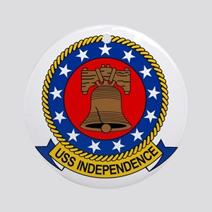 Uss Independence Cv-62 Ornament (round)