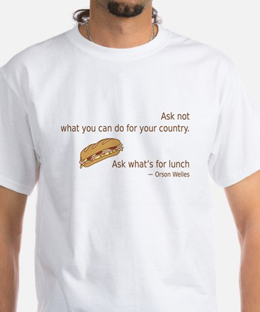 Whats For Lunch T-Shirt