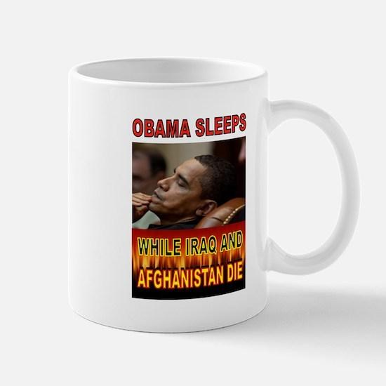 ASLEEP AGAIN Mugs