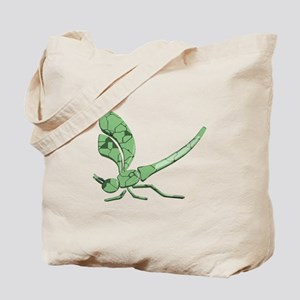 Glass Dragonfly Tote Bag