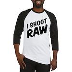 I shoot raw Baseball Jersey