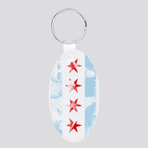 Chicago Flag Al Capone Keychains