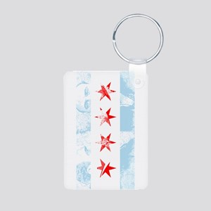 Chicago Flag Al Capone Keychains
