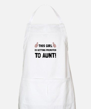 Promoted To Aunt Apron