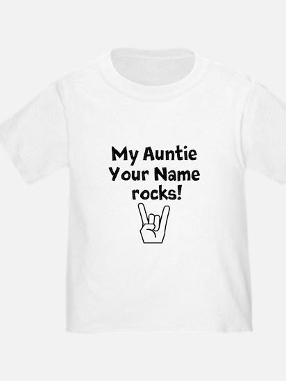 My Auntie Rocks (Custom) T-Shirt