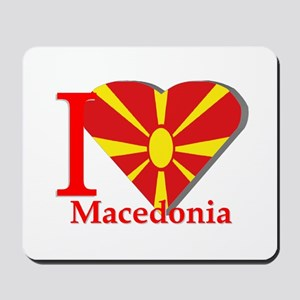 I love Macedonia Mousepad