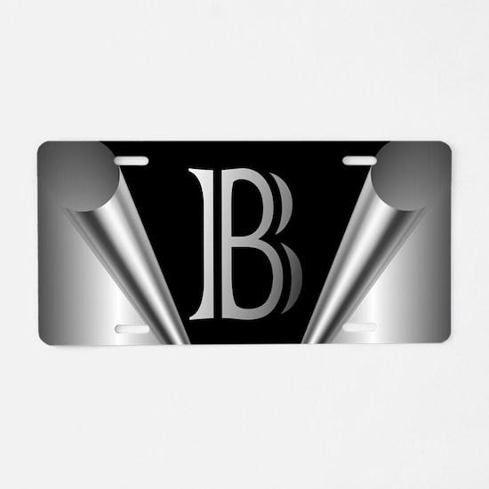 Steel Peel (B) Aluminum License Plate