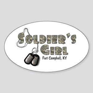 Fort Campbell Oval Sticker