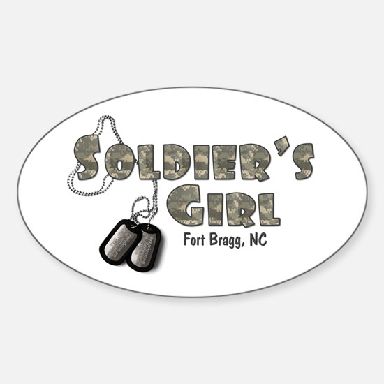 Fort Bragg, NC Oval Decal