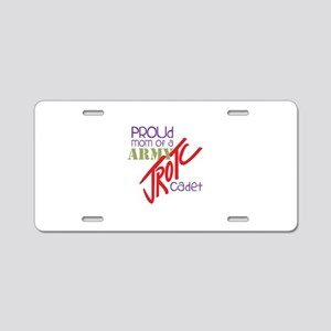 Proud Mom Aluminum License Plate