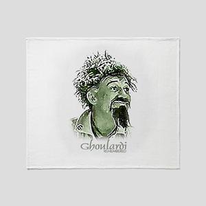 GhoulardiRemembered Throw Blanket