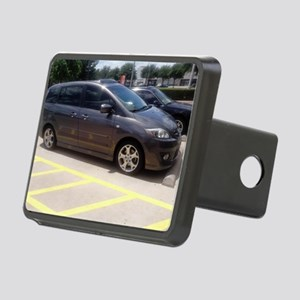 Minivan Rectangular Hitch Cover