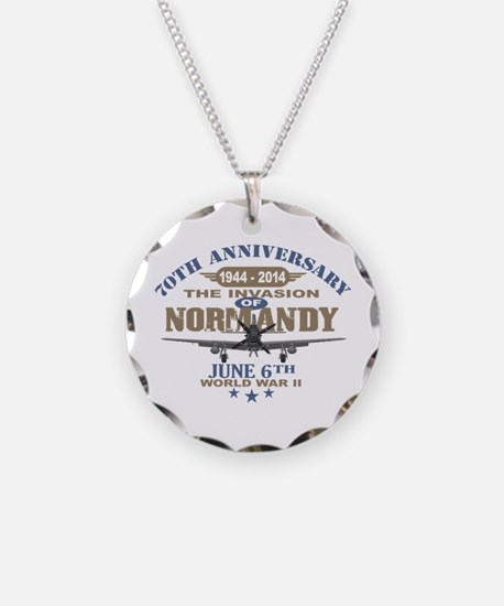 D-Day 70th Anniversary Battle of Normandy Necklace