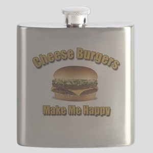 Cheese Burgers Design 1 Flask