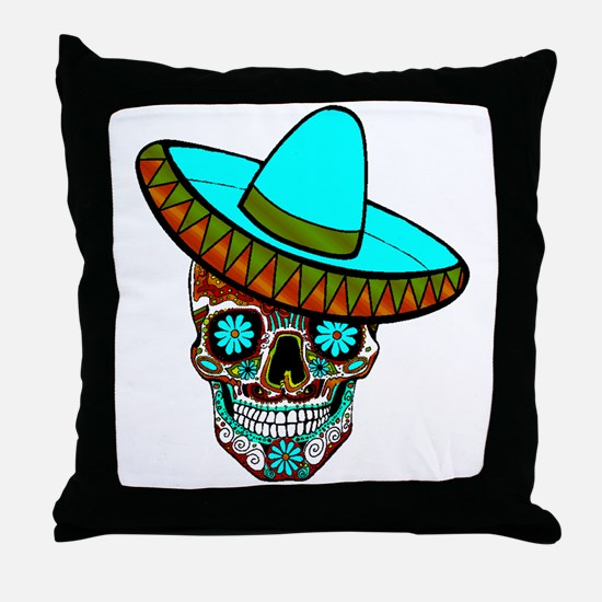 Unique All souls day Throw Pillow