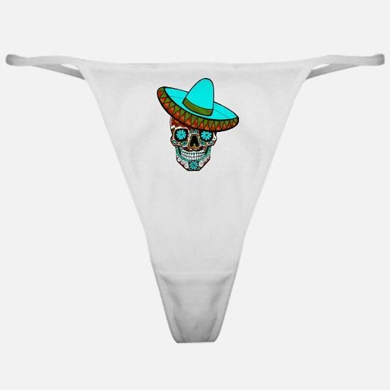 Funny Muertos Classic Thong