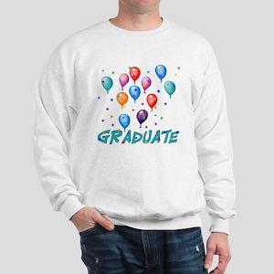 Graduation Balloons Sweatshirt
