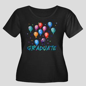 Graduation Balloons Women's Plus Size Scoop Neck D