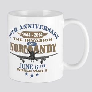 D-Day 70th Anniversary Battle of Normandy Mugs