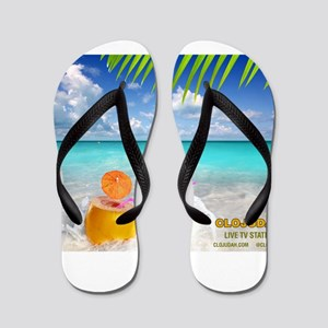 Summertime Beach Flip Flops