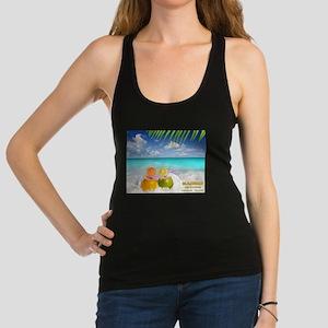 Summertime Beach Racerback Tank Top