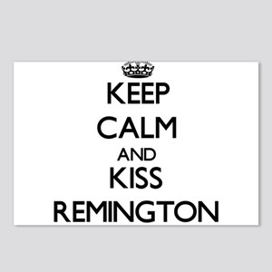 Keep Calm and Kiss Remington Postcards (Package of