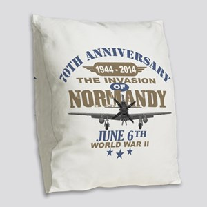 D-Day 70th Anniversary Battle of Normandy Burlap T