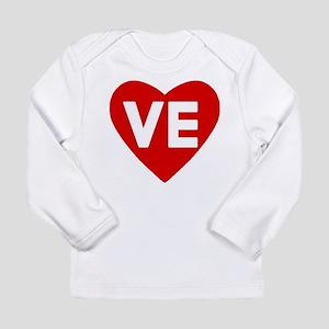 Ve (love) Heart Infant Long Sleeve T-Shirt