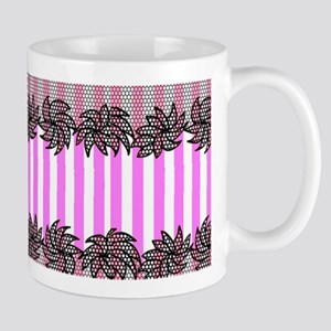 VSPinkStripeLace Small Mug
