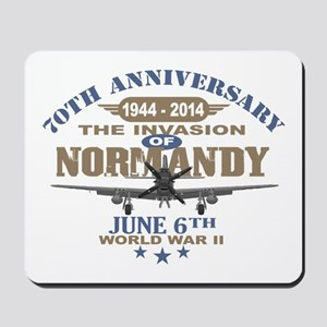 D-Day 70th Anniversary Battle of Normandy Mousepad