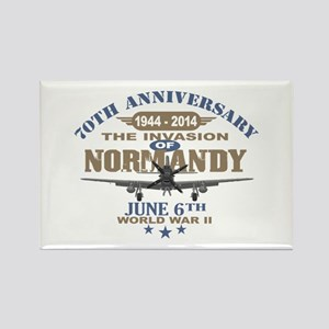 D-Day 70th Anniversary Battle of Normandy Magnets