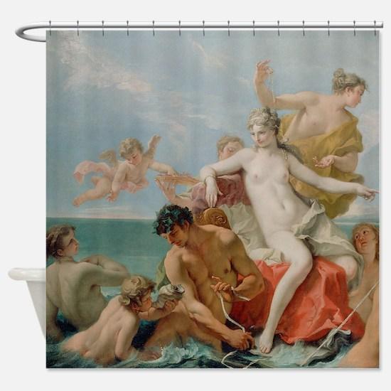 Triumph Of The Marine Venus Shower Curtain