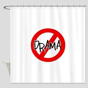 NO DRAMA Shower Curtain