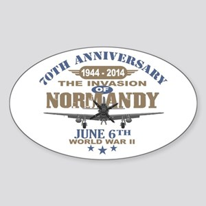 D-Day 70th Anniversary Battle of Normandy Sticker