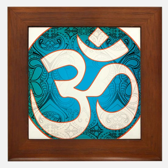 Pause and listen for the ohm Framed Tile