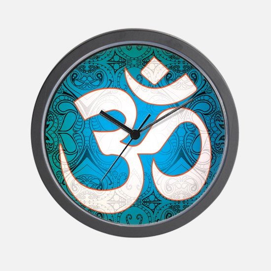 Pause and listen for the ohm Wall Clock