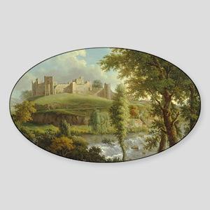 Medieval castle Sticker