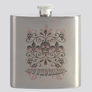 snowmobiling Flask