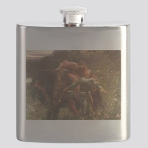 La belle dame sans merci: illustration Flask